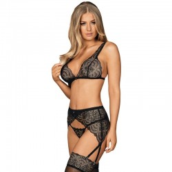 LEG AVENUE SET 2 PIEZAS TOP Y FALDA TALLA UNICA