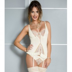 CASMIR CORSET CONNIE COLOR CREMA TALLA XXL/XXXL