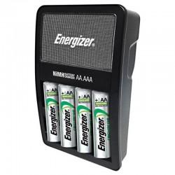 ENERGIZER CARGADOR PILAS AA + 4 PILAS INCLUIDAS