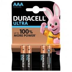 DURACELL ULTRA POWER PILA ALCALINA AAA LR03 BLISTER*4