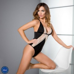 CASMIR CONNIE BODY NEGRO TALLA S/M