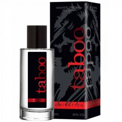 TABOO DOMINATION PERFUME CON FEROMONAS PARA ÉL 50ML