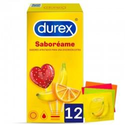 DUREX SABOREAME 12 UNIDADES