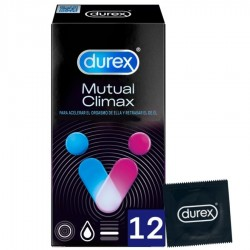 DUREX CLIMAX MUTUO 12 UDS