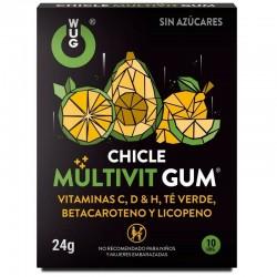 WUG CHICLE MULTIVIT GUM 10UDS
