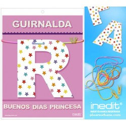 GUIRNALDA BUENOS DIAS PRINCESA (Cartulina 220gr)