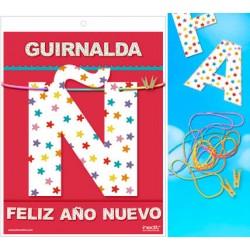 GUIRNALDA FELIZ AÑO NUEVO (Cartulina 220gr)