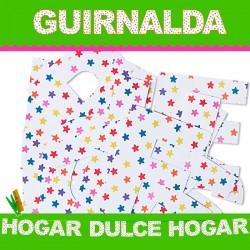 GUIRNALDA HOGAR DULCE HOGAR (Cartulina 220gr)