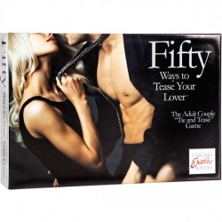 CALEX  FIFTY WAYS TO TEASE YOUR LOVE - KIT PARA PAREJAS