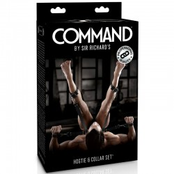 SIR RICHARDS COMMAND SET CON HOGTIE Y COLLAR