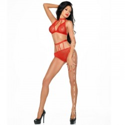 PASSION EROTIC LINE TANGA BLANCO MT012